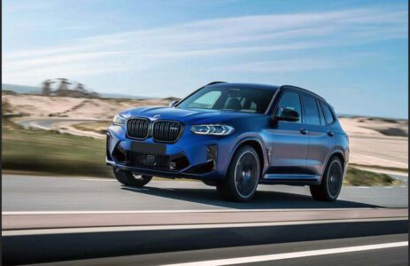 2022 Bmw X3m X3 M Sport Competition S58 Changes