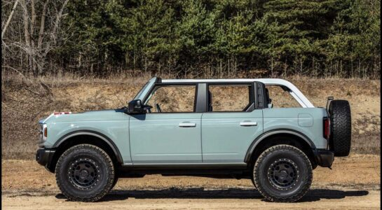 2022 Ford Bronco Review Lease Interior Image Exterior