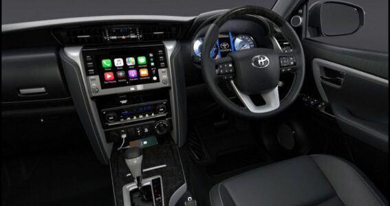 2022 Toyota Fortuner Old Used G Latest Furchner Exterior
