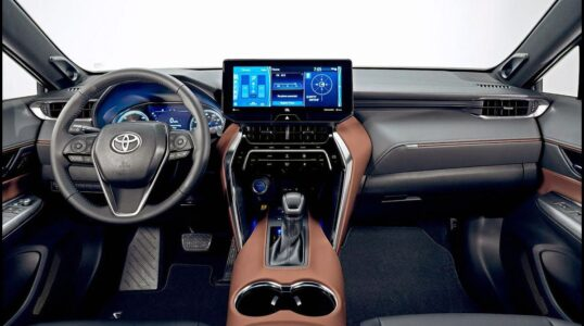 2022 Toyota Venza With Build When Available Cargo