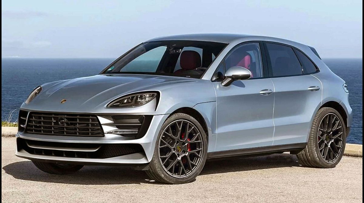 2023 Porsche Macan Gts Tuning White Red Suv New Exterior