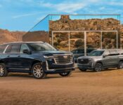 2022 Cadillac Escalade A The Blacked Out Review Lease Engine