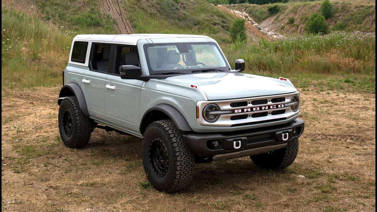 2022 Ford Bronco Suv Warthog Release Date Towing Capacity