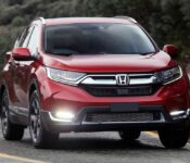 2018 Honda Cr V Passion Red Front End Driving