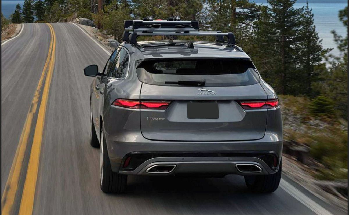 2022 Jaguar F Pace Sport Chequered Flag Electric Black