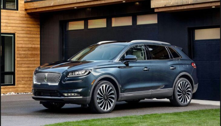 2022 Lincoln Nautilus 2021 2020 2019 Reserve For Sale Exterior
